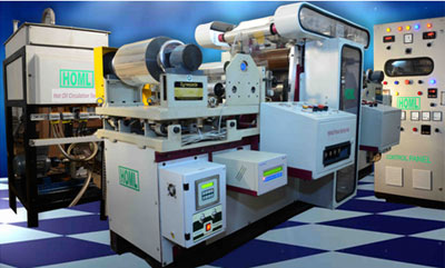 Fully Automatic Narrow Web Hard Embossing Machine